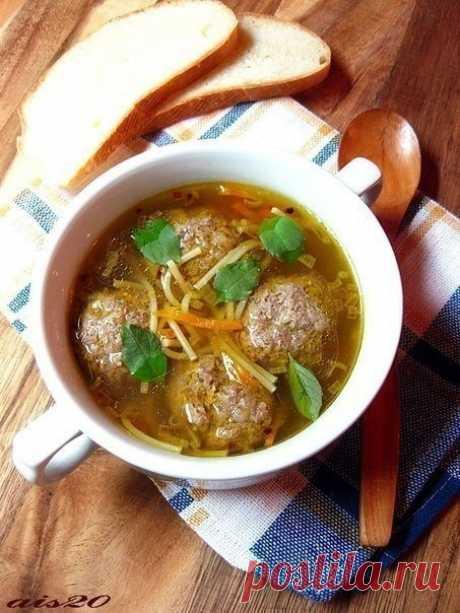 Как приготовить вермишелевый суп с гречневыми фрикадельками - рецепт, ингредиенты и фотографии