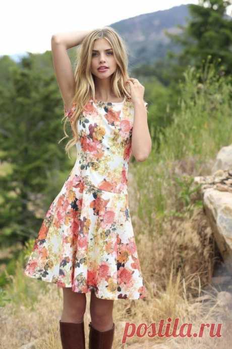 Шьем платье на лето или сразу несколько!
