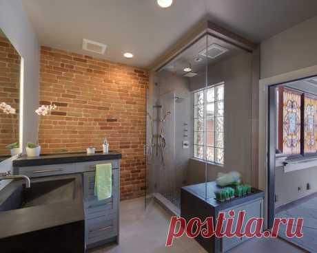 Какой кирпич самый удачный для стен санузла и ванной комнаты