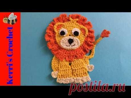 Crochet Lion Tutorial