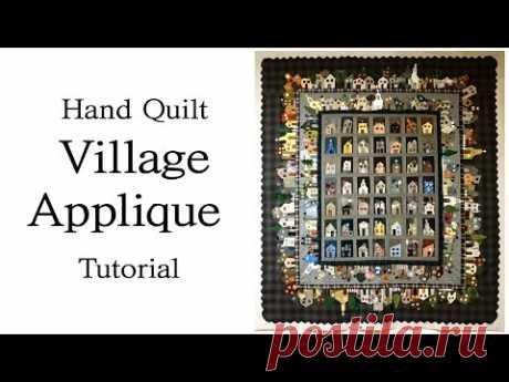 Деревенское одеяло Учебник по аппликации I Yoko Saito House chat