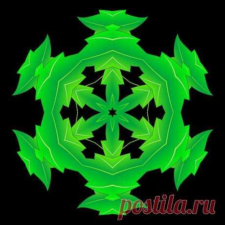 Растительная мандала - колесо Флорв.  Floral mandala  Free Stock Photo HD - Public Domain Pictures