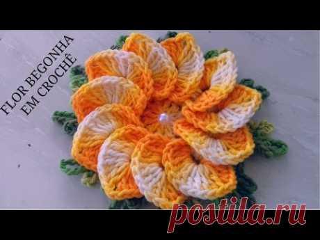 Aprenda agora a fazer esta linda e Formosa Flor de maneira fácil e rápido # Cristina Coelho Alves