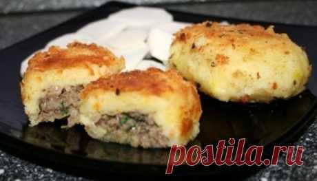Картофельные пирожки со шпротами   Интернет & Я