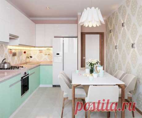 Кухни: дизайн проекты, фото 10 кв метров