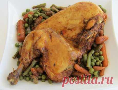 Курица в духовке по-арабски   Вкусные рецепты