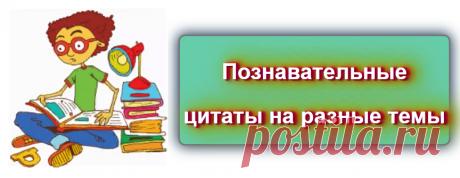 📖  Познавательные цитаты на разные темы  Источник: https://blog-citaty.blogspot.com/  #цитата #цитаты #Blog_citaty