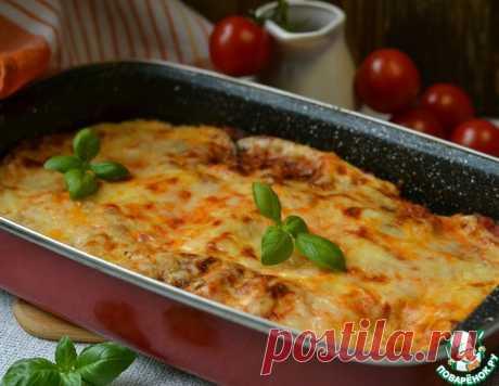 Баклажановая запеканка а-ля лазанья - кулинарный рецепт