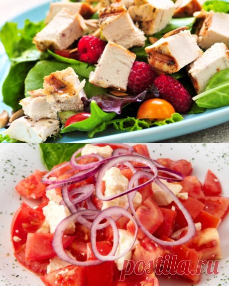 Рецепты диетических фитнес-салатов для похудения