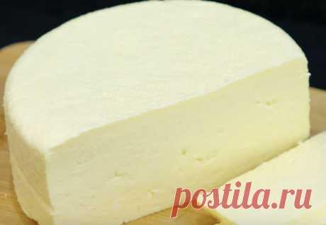 Сыр за 10 минут: делаем из трех ингредиентов