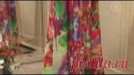 Как быстро сшить летнее платье в пол своими руками