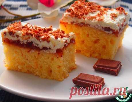 Нежное пирожное – кулинарный рецепт