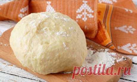 Постное тесто для пирога - рецепт с фото / Простые рецепты