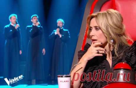 Русские семинаристы поразили жюри шоу «Голос» во Франции