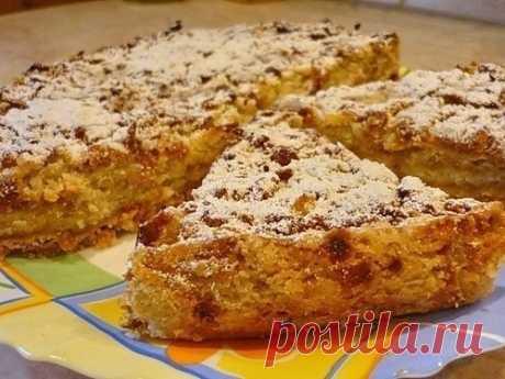 Как приготовить варшавский яблочный пирог - рецепт, ингредиенты и фотографии
