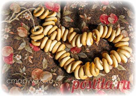 Сушки на веревочке - интерьерное украшение для кухни - HANDMADE-ИДЕИ