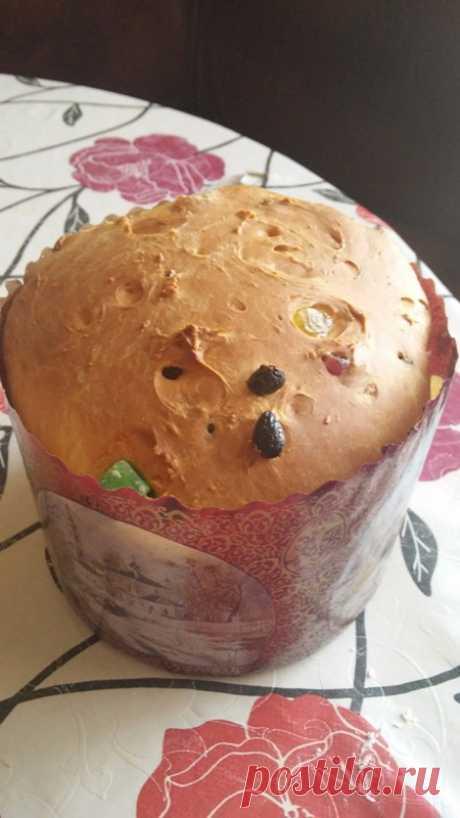 Кулич пасхальный с изюминкой - пошаговый рецепт с фото - как приготовить - ингредиенты, состав, время приготовления - Дети Mail.Ru