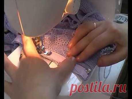 ▶ Вшивание молнии на швейной машине. https://vyzanie.com/i - YouTube