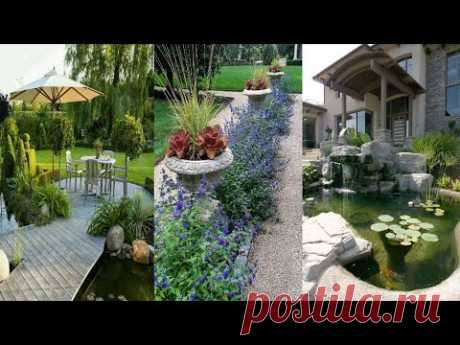 Идеи дизайна и отделки двора и сада