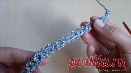 Мастер-класс смотреть онлайн: Как связать шнур-завязку или ремешок крючком | Журнал Ярмарки Мастеров