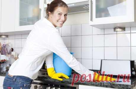 Эффективные народные средства для уборки / Все для женщины