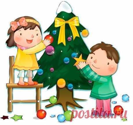 Новогодние стишки для малышей