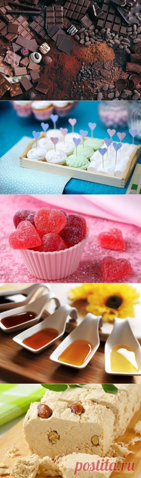 10 самых полезных сладостей / Будьте здоровы