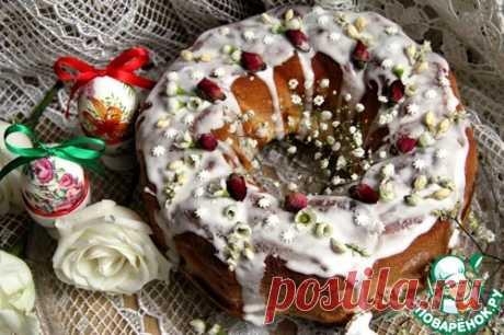 Пирог-кольцо со сладкими прослойками – кулинарный рецепт