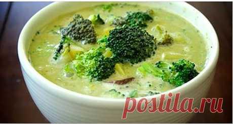 Как сделать сливочный суп из брокколи против рака! - Стильные советы