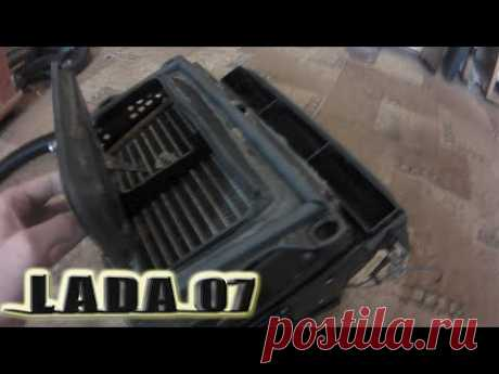 ПЕРЕДЕЛКА ПЕЧКИ ВАЗ 2107 ЗА КОПЕЙКИ | РЕЗУЛЬТАТ ШОКИРОВАЛ