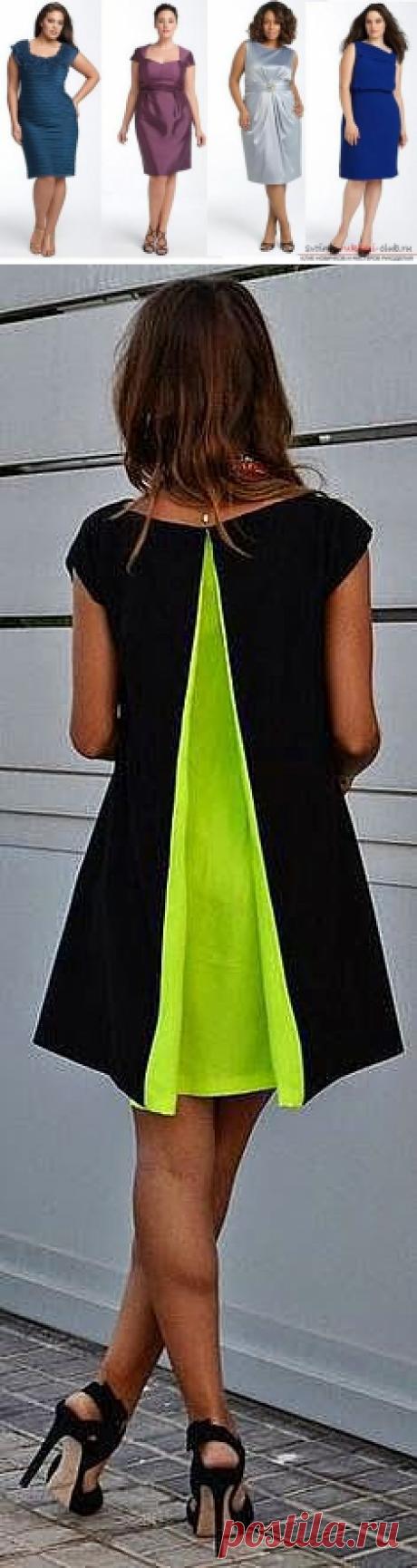 Сделать выкройку платья больших размеров для женщин разного возраста своими руками, используя пошаговую инструкцию с фото и описанием.