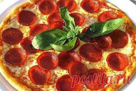 Настоящая итальянская пицца- 9 восхитительных рецептов. | Готовим вместе