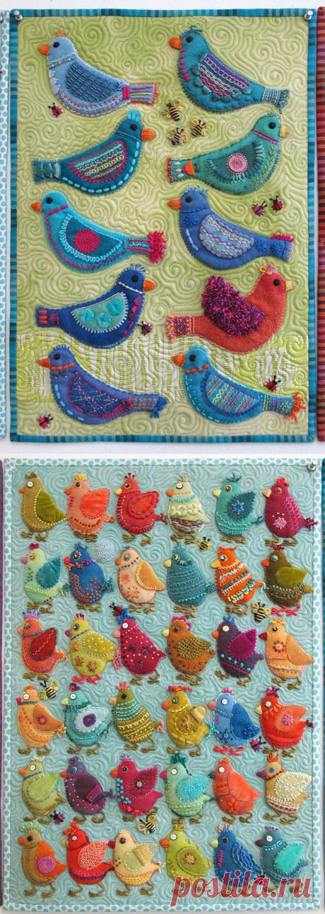 Сью Спарго Птичья Игра (Блог | Stitchin ' Post )