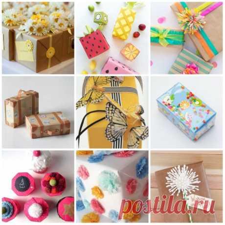 Как сделать упаковку для подарка своими руками? 5 летних идей
