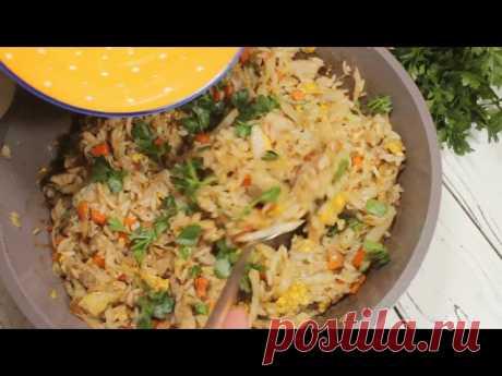 Жареный рис - запись пользователя AnnaAflek в сообществе Болталка в категории Кулинария Очень простое в приготовлении блюдо, которое не надоедает. Получается очень вкусно, готовить буквально минут 15 - 20. Можно сделать сразу большую порцию на всю семью. Отлично подходит на обед и ужин, ваша семья будет довольна.