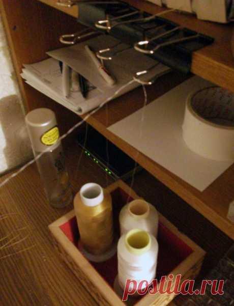 Как шить с больших бобин ниток (Diy) / Материалы, техники и инструменты / ВТОРАЯ УЛИЦА