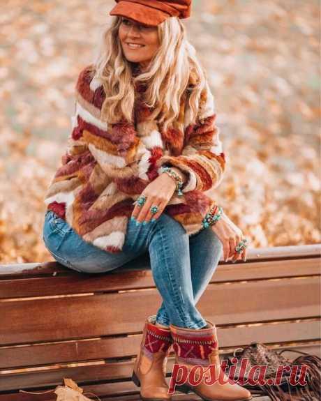 Роскошный БОХО: 11 восхитительных образов на осень | INFO💗STYLE | Яндекс Дзен