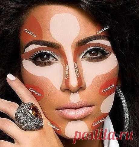 Грамотное нанесение макияжа