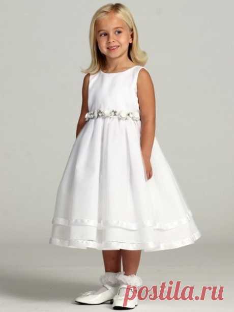 #sewingschool_howto   ● Шьем нарядное платье для девочки.