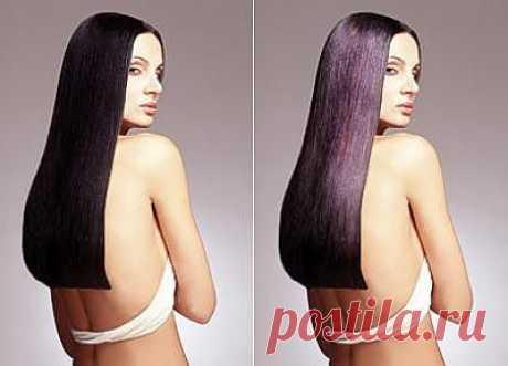 Как сделать волосы блестящими в фотошопе