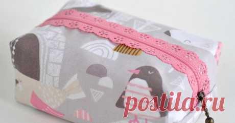 Boxy Zipper Pouch Sewing Tutorial Boxy Lace Zipper Pouch Sewing Tutorial