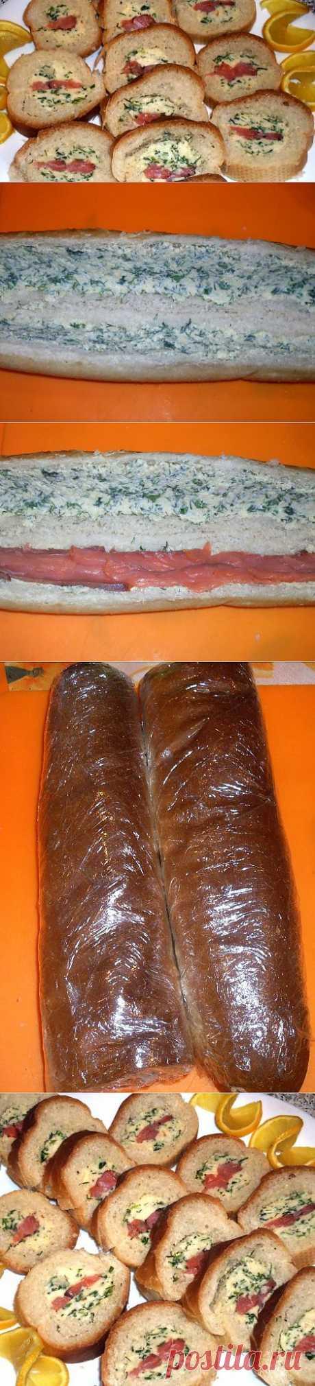 Обычные-необычные бутеры или сёмга в багете | Четыре вкуса