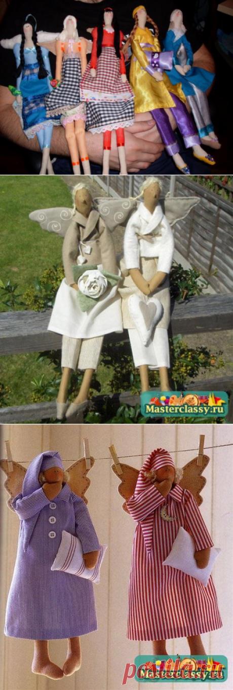 """Мое новое увлечение: куклы Тильды! Первая кукла - """"Винтажный ангел""""! Выкройка+МК!"""