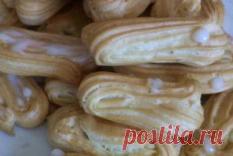 Заварное тесто для эклеров рецепт – французская кухня: выпечка и десерты. «Еда»