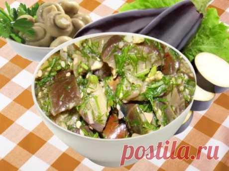 Баклажаны как грибы на зиму: рецепты быстро и вкусно