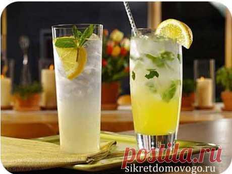 Лимонад с имбирем | СЕКРЕТЫ ДОМОВОГО