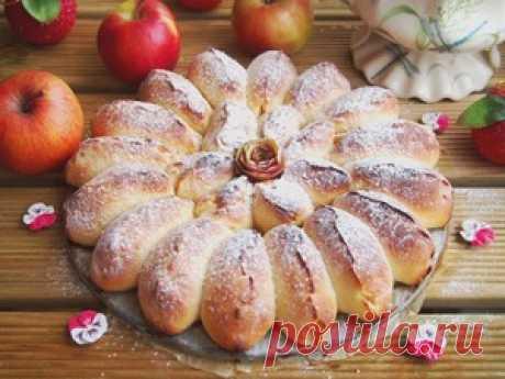 Отрывной яблочный пирог пошаговый рецепт с фотографиями