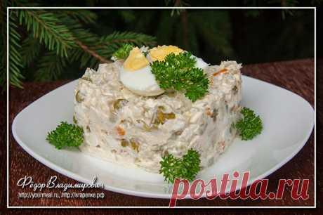 Салат «Столичный» | Домашние рецепты