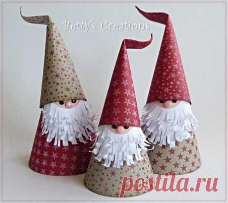 Дед Мороз своими руками — мастер-класс Дед Мороз своими руками — мастер-класс