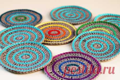 Free crochet pattern: Roller Coasters! - haakmaarraak.nl